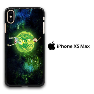 Rick and Morty Green Slime iPhone Xs Max Case