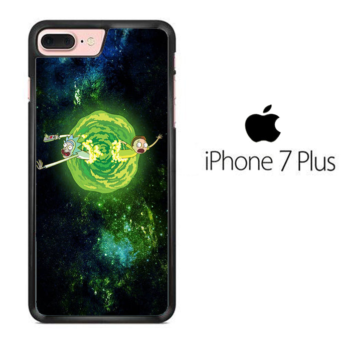 Rick and Morty Green Slime iPhone 7 Plus Case