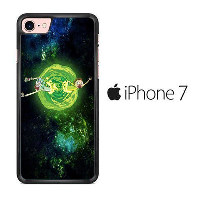 Rick and Morty Green Slime iPhone 7 Case