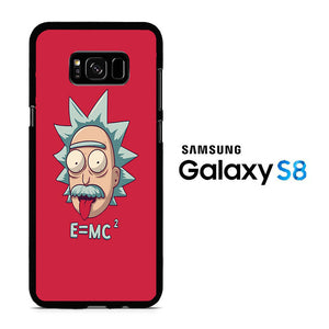 Rick and Morty Red Samsung Galaxy S8 Case