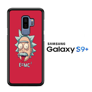 Rick and Morty Red Samsung Galaxy S9 Plus Case