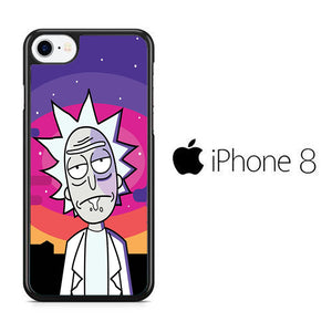 Rick and Morty Sky iPhone 8 Case