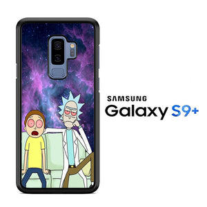 Rick and Morty Stars Samsung Galaxy S9 Plus Case - ezzystore - Phone Case