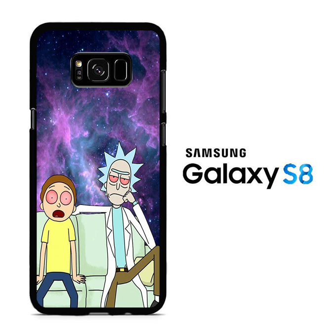 Rick and Morty Stars Samsung Galaxy S8 Case