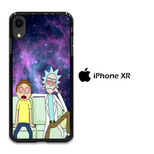 Rick and Morty Stars iPhone XR Case