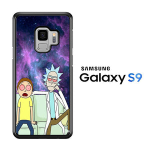 Rick and Morty Stars Samsung Galaxy S9 Case