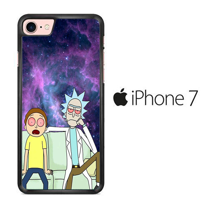 Rick and Morty Stars iPhone 7 Case