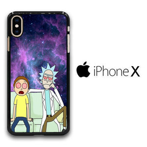 Rick and Morty Stars iPhone X Case