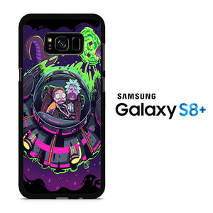Rick and Morty Ufo Samsung Galaxy S8 Plus Case