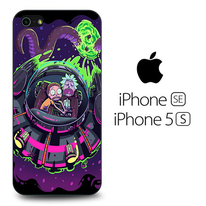 Rick and Morty Ufo iPhone 5 | 5s Case
