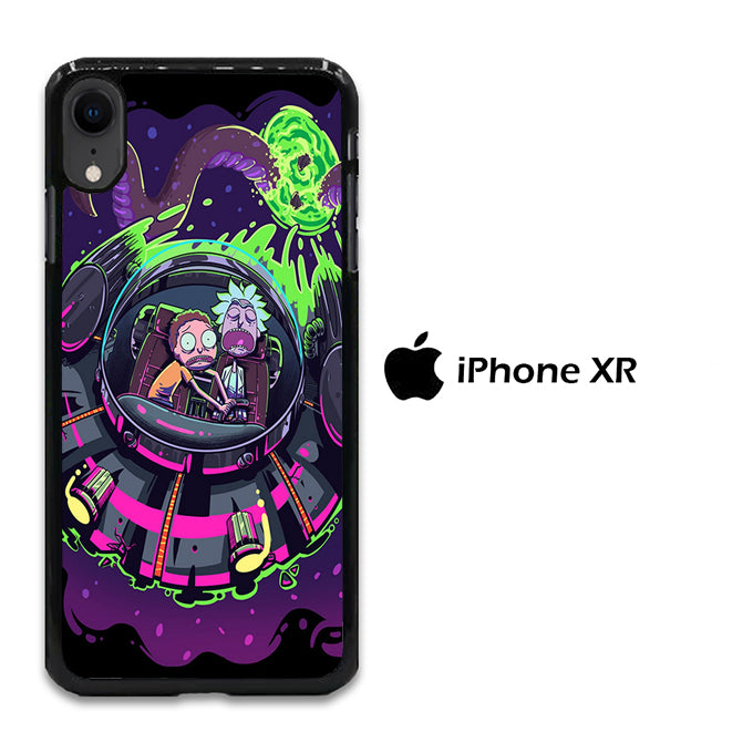 Rick and Morty Ufo iPhone XR Case