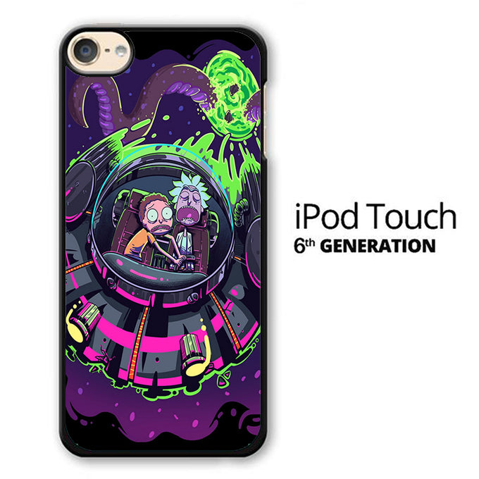 Rick and Morty Ufo iPod Touch 6 Case