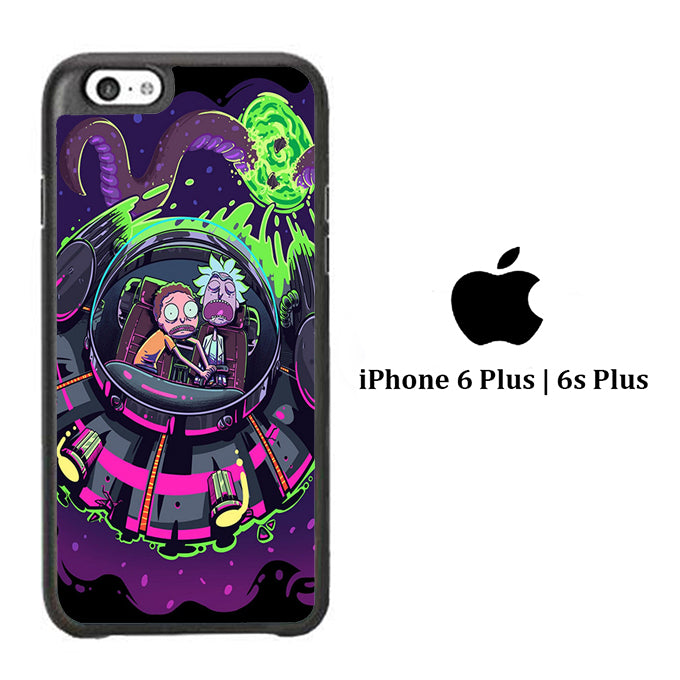 Rick and Morty Ufo iPhone 6 Plus | 6s Plus Case