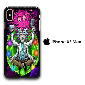 Rick and Morty Yoga iPhone Xs Max Case