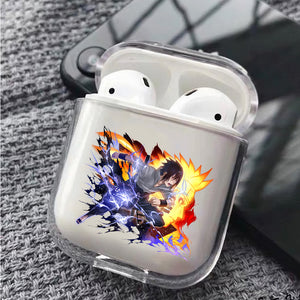 Sasuke The Sun and The Moon Protective Clear Case Cover For Apple Airpods