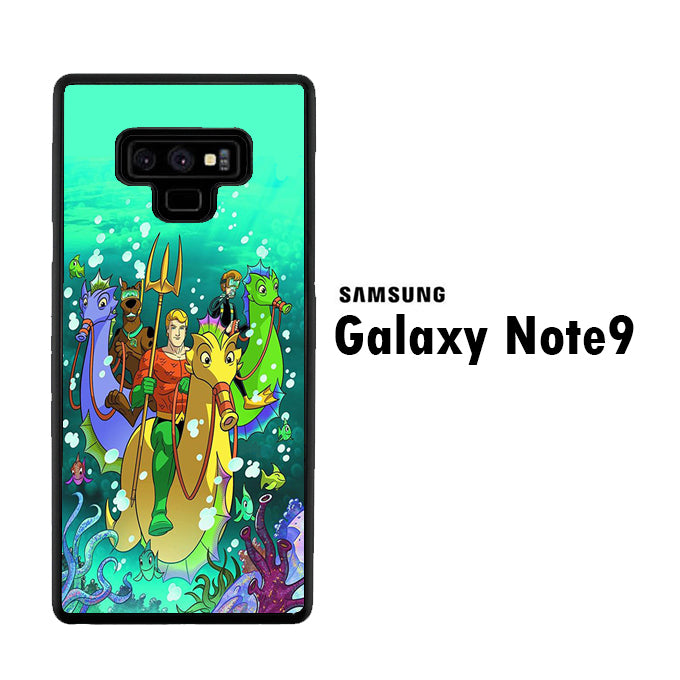 Scooby-Doo Fred Aquaman Samsung Galaxy Note 9 Case