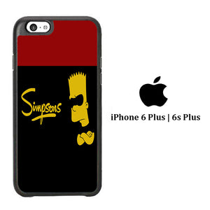 Simpson Black iPhone 6 Plus | 6s Plus Case