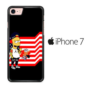 Simpson Flag iPhone 7 Case