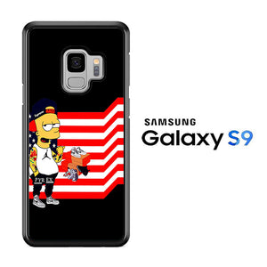 Simpson Flag Samsung Galaxy S9 Case