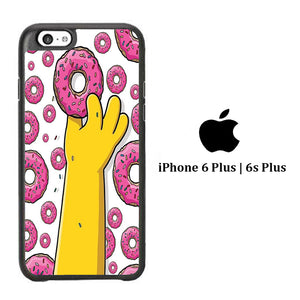 Simpson Many Donut iPhone 6 Plus | 6s Plus Case
