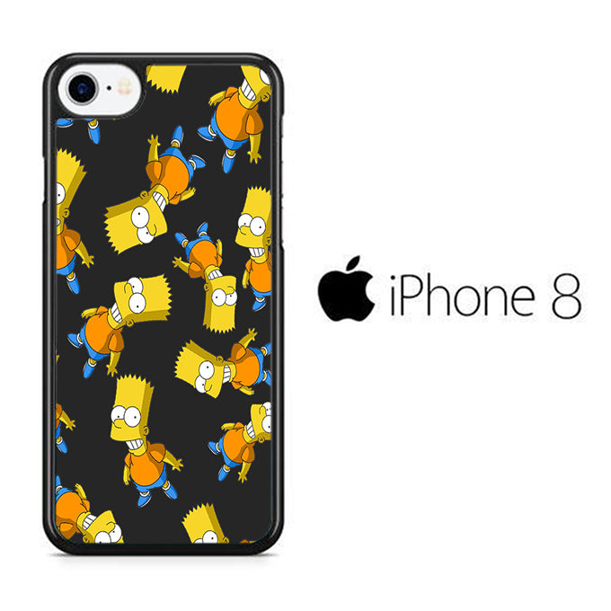 Simpson Many Simpson iPhone 8 Case