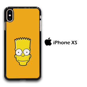 Simpson Orange iPhone Xs Case