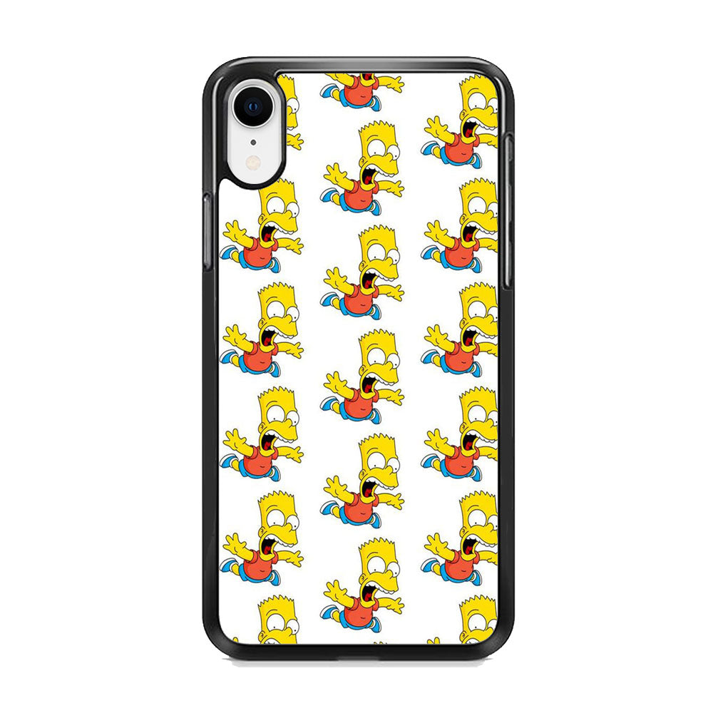 Simpson Scream iPhone XR Case