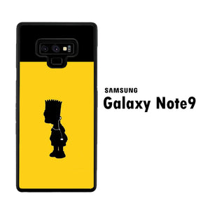 Simpson Yellow Samsung Galaxy Note 9 Case