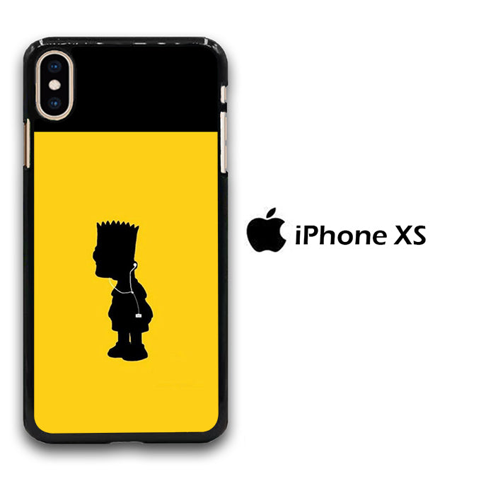 Simpson Yellow iPhone Xs Case
