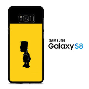 Simpson Yellow Samsung Galaxy S8 Case