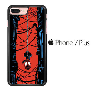 Spiderman Building iPhone 7 Plus Case