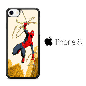 Spiderman Jump iPhone 8 Case