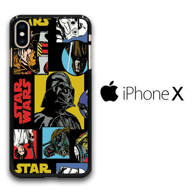 Star Wars Darth Vader 004 iPhone X Case