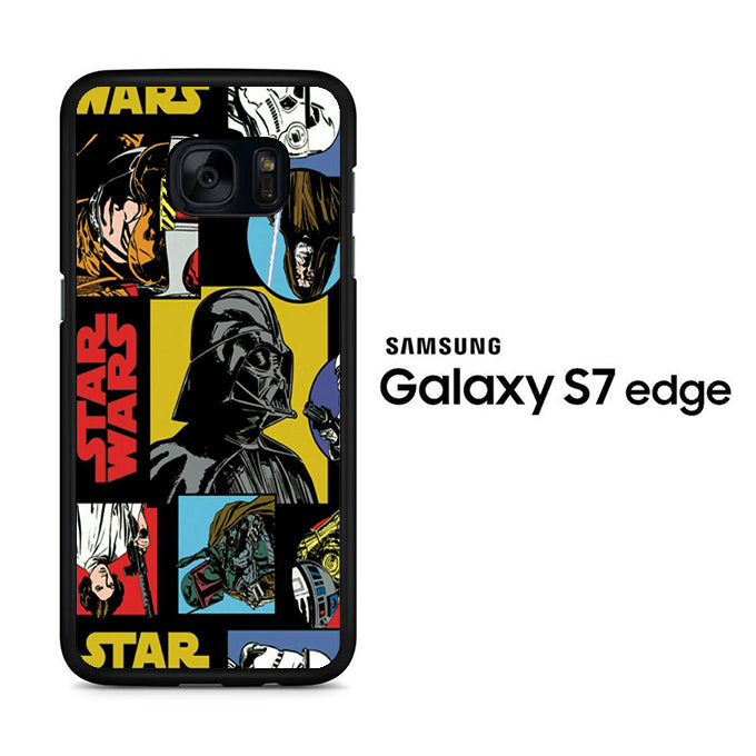 Star Wars Darth Vader 004 Samsung Galaxy S7 Edge Case