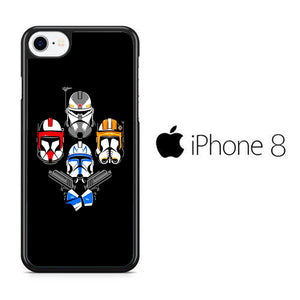 Star Wars Strormtrooper 007 iPhone 8 Case