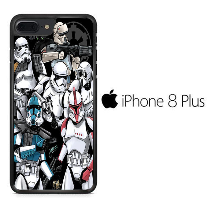 Star Wars Strormtrooper 025 iPhone 8 Plus Case