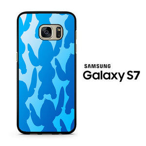 Stitch Camo Samsung Galaxy S7 Case