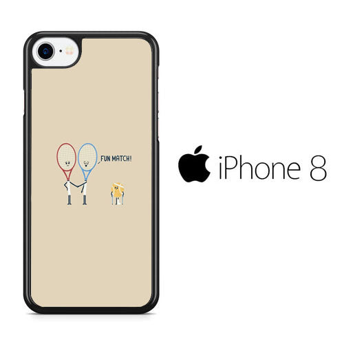 Tennis Meme Fun Match iPhone 8 Case
