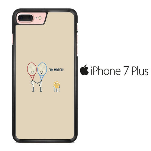 Tennis Meme Fun Match iPhone 7 Plus Case