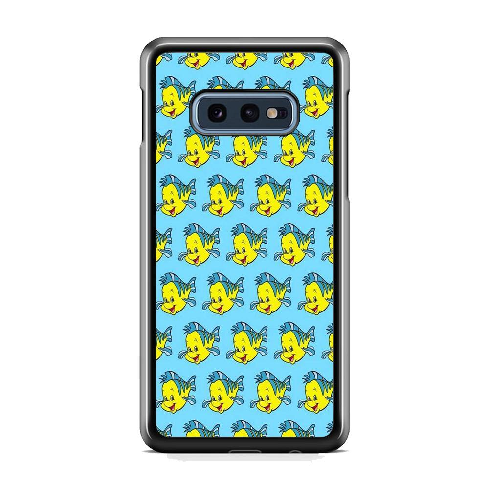 The Little Mermaid Flounder Doodle Samsung Galaxy 10e Case