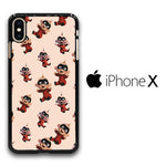 The Incredibles Jack-Jack Parr Doodle iPhone X Case