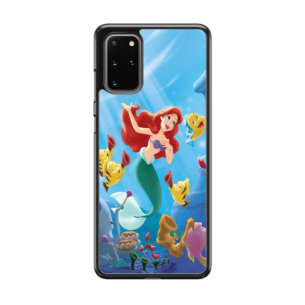 The Little Mermaid Best Friend Samsung Galaxy S20 Plus Case