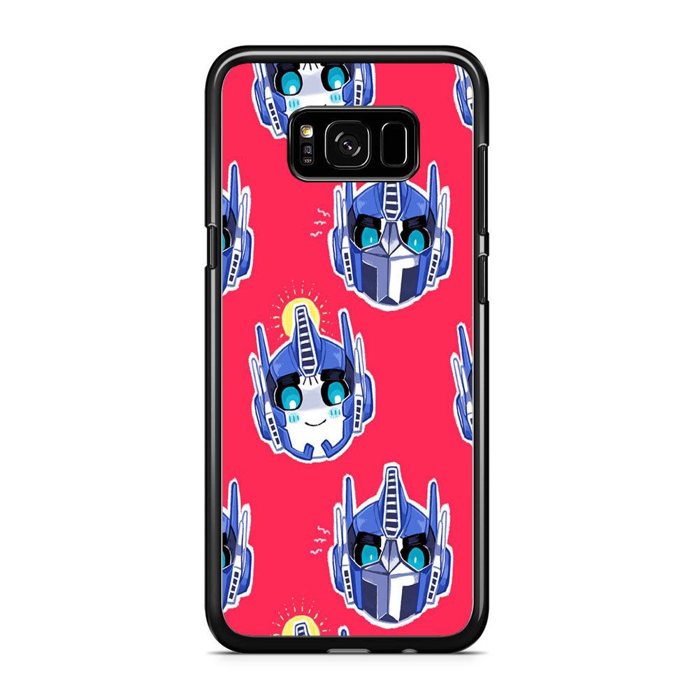 Transformers Red Doodle Samsung Galaxy S8 Plus Case