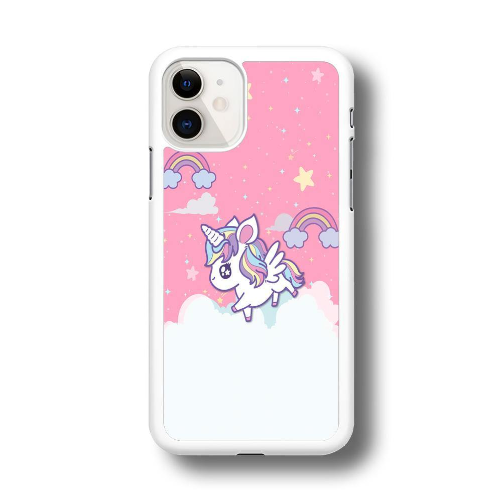 Unicorn Pink Cotton iPhone 11 Case - ezzyst