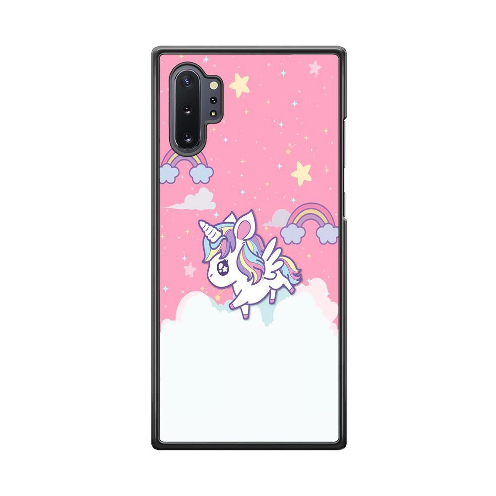 Unicorn Pink Cotton Samsung Galaxy Note 10 Plus Case