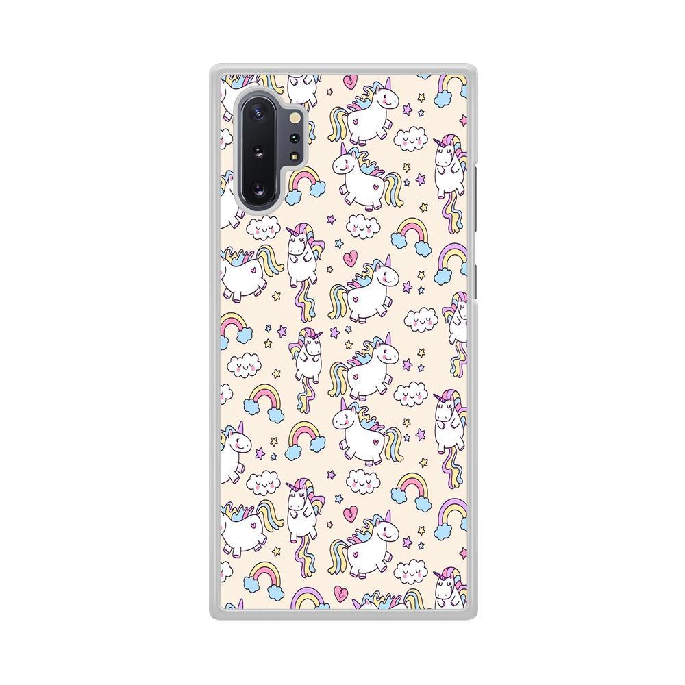 Unicorn Rainbow Samsung Galaxy Note 10 Plus Case