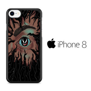 Venom Eddie Eyes iPhone 8 Case