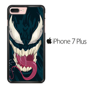 Venom Navy Face iPhone 7 Plus Case
