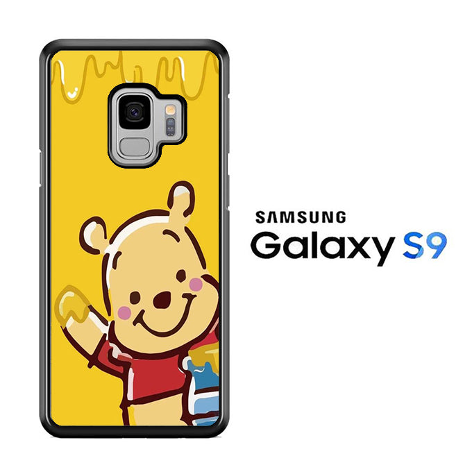 Winnie The Pooh Hello Honey Samsung Galaxy S9 Case