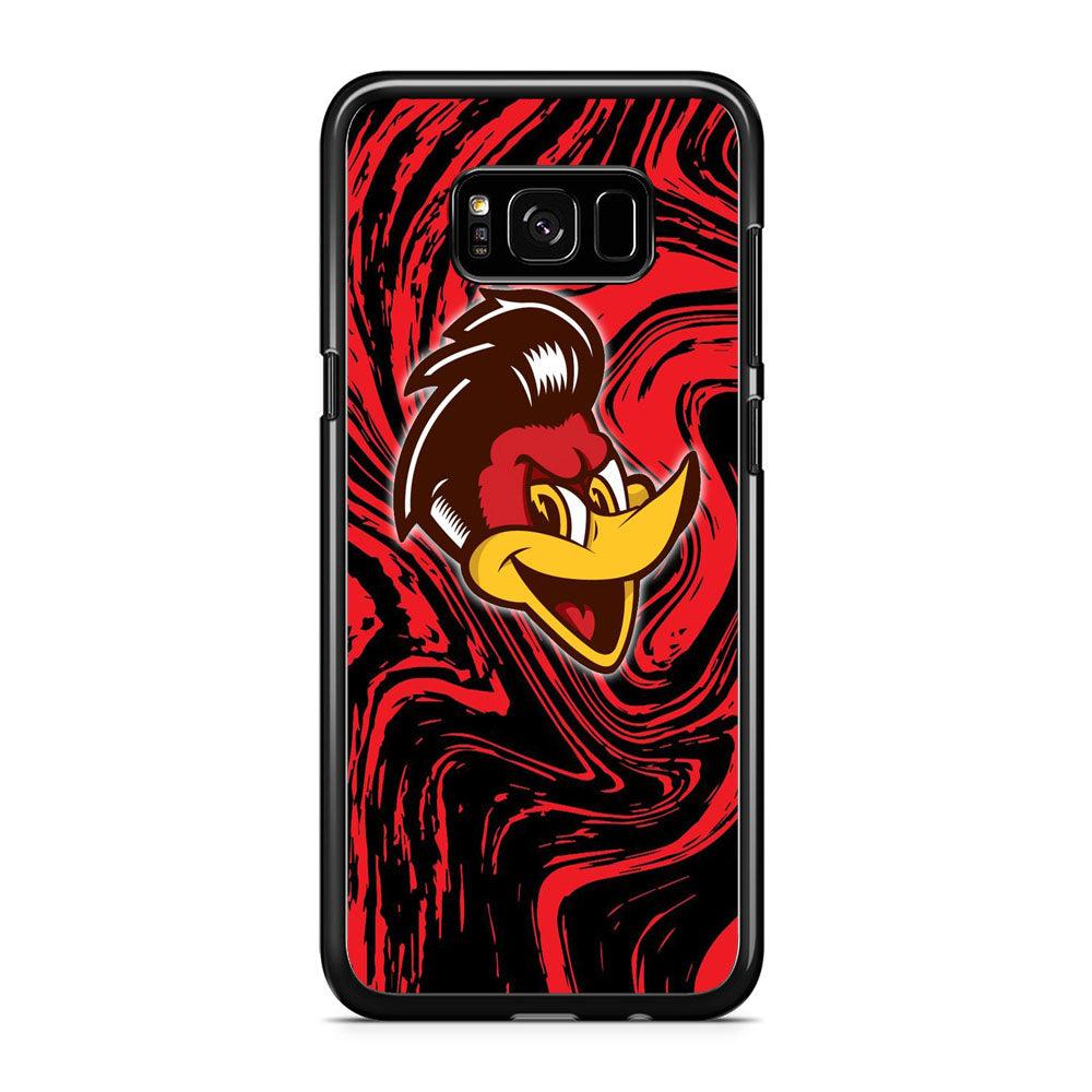 Woody Woodpecker Red Marble Samsung Galaxy S8 Plus Case